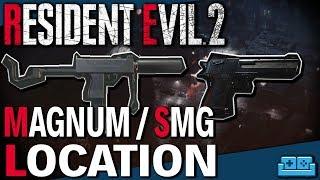 RESIDENT EVIL 2 REMAKE | MAGNUM / SMG LOCATION GUIDE