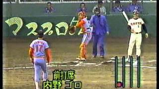 山田久志 vs 落合博満 1986年 阪急 x ロッテ