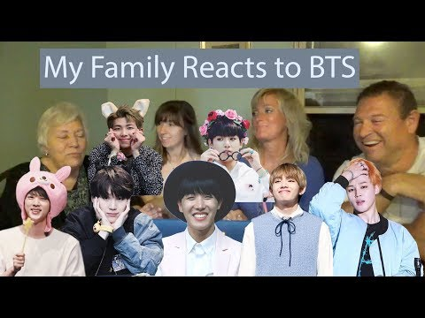 My Family Reacts to BTS (Feat. Grandma)