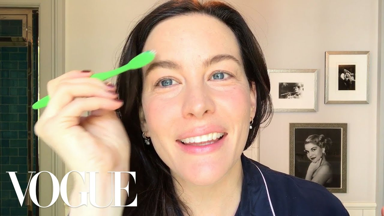 Liv Tyler Does Her 25-Step Beauty and Self-Care Routine | Beauty Secrets | Vogue