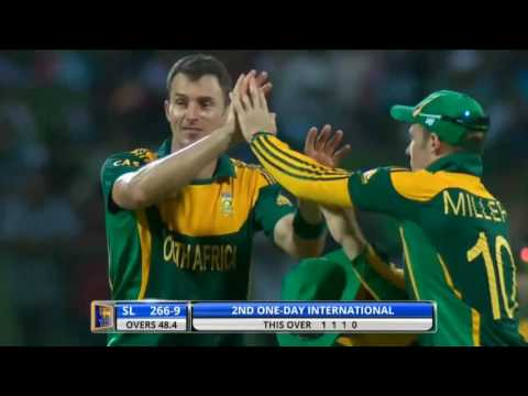 Watch Ryan McLaren in action for South Africa