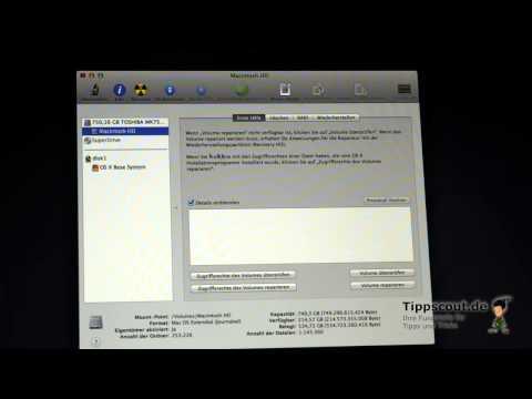 Mac OS X Alle Daten Löschen Und Komplett Neu Installieren