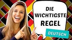 Die wichtigste REGEL der deutschen SATZSTRUKTUR!