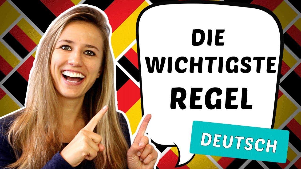 Download Die wichtigste REGEL der deutschen SATZSTRUKTUR!