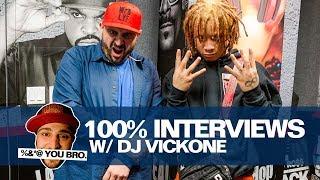 100% Interviews w/ Dj Vick One: Trippie Redd