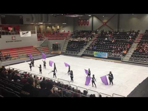 Tahlequah High School Winter Guard @ State 4-1-17