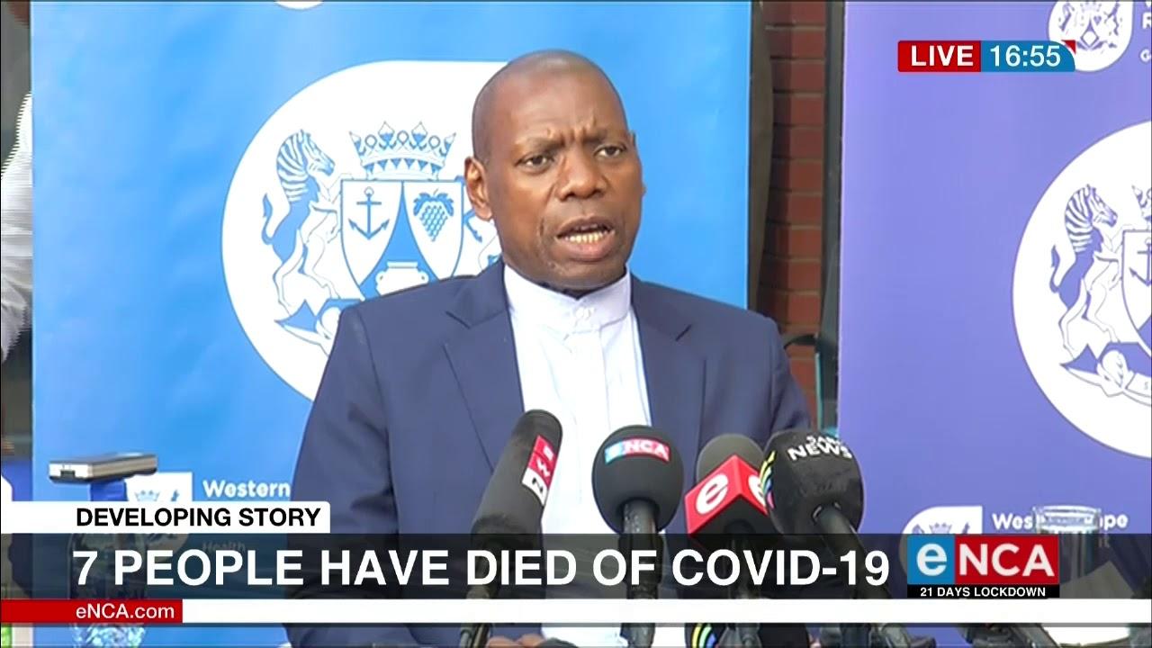 SA COVID 19 cases now over 1500 - eNCA