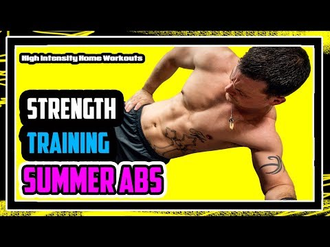 KILLER ABS Workout 🔥🔥🔥High Intensity Weight Training  [2018]