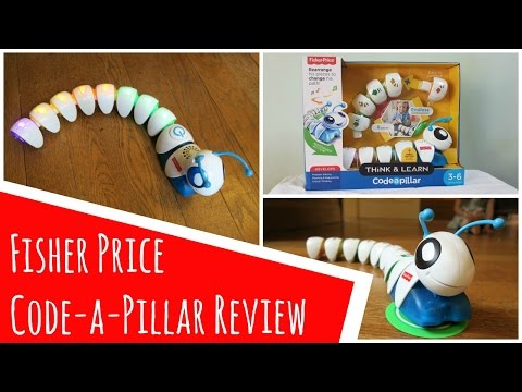 Fisher Price Code-a-Pillar Review