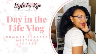Summer Vlog: Online Classes, Updates & More | StyleByKye