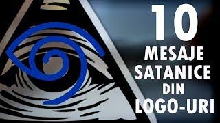 Top 10 Mesaje SATANICE din LOGO-uri Celebre