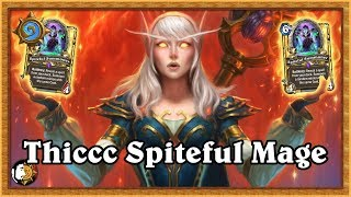 Hearthstone: How To Get An A In Spanish - Legend Thiccc Spiteful Mage