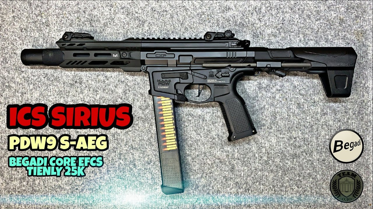 [REVIEW] ICS SIRIUS PDW9 S-AEG (CORE, Tienly 25k)