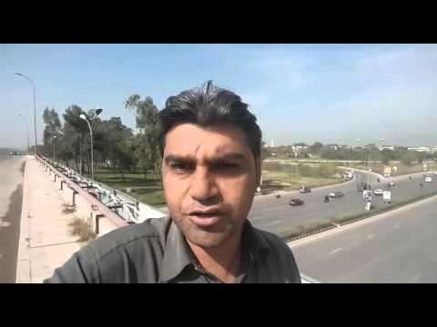 At Zero Point Interchange, Islamabad, Pakistan