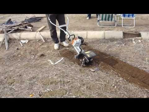 Видео мульти мотор STIHL MM 55 (в комплекте с BF-MM)