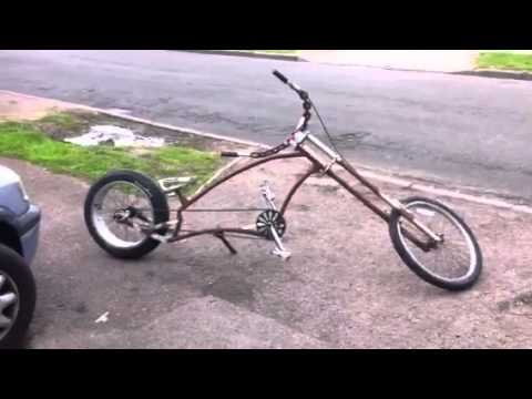 Glenns American Chopper Style Bicycle Pt 1 Youtube
