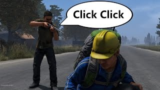 Repeat youtube video Giving Players a Jammed Gun - A DayZ Social Experiment