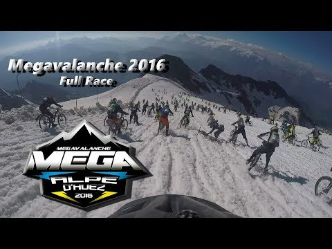 Megavalanche 2016 Alpe d´Huez (Full Race)