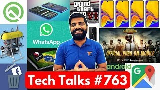 Tech Talks #763 - PUBG India Arrest, GTA 6, Whatsapp Down, Android Q, Google Ads, P30 Pro, Oppo Reno
