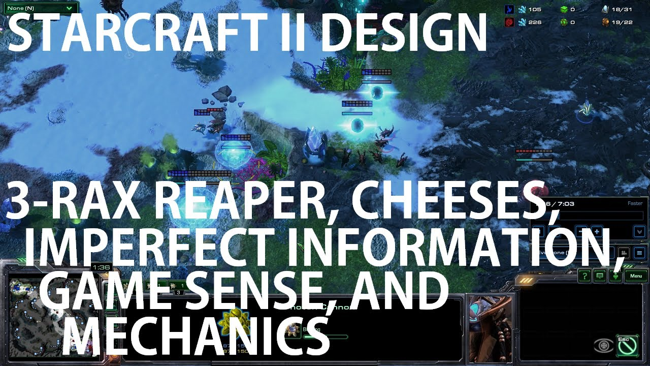 StarCraft II Design – 3-Rax Reaper, Cheeses, Imperfect Information, Game Sense, and Mechanics