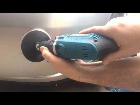 Car paint scratch repair