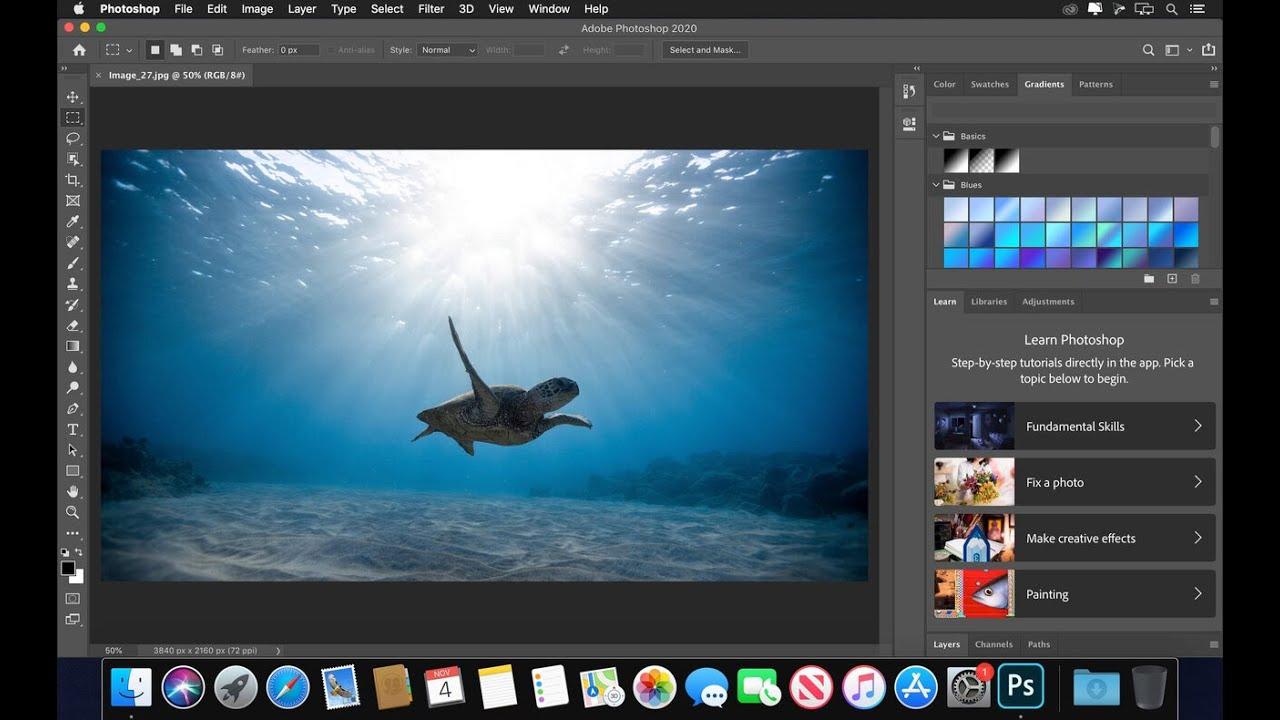 Adobe Photoshop 2020 (macOS)