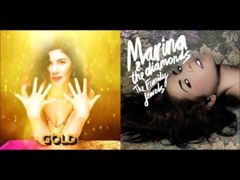 I Am Not Gold - Marina and the Diamonds (Mashup)