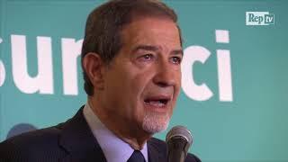 Elezioni Sicilia, Musumeci si commuove e dedica la vittoria ai figlio scomparso