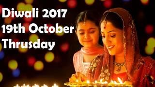 Diwali 2017 date Puja timings
