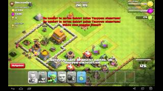 Lets Play Clash of Clans German Part 15 Reden