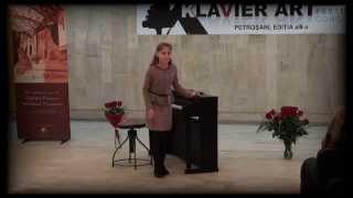 Concursul Klavier Art Petrosani-Melissa Suteu