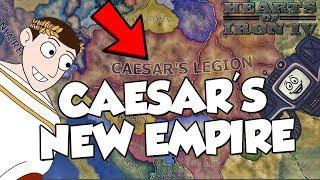 Caesar's New Empire Hearts of Iron 4 HOI IV Old World Blues Mod