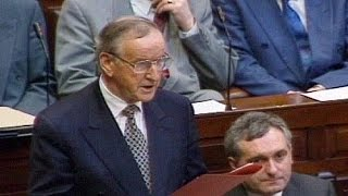 Tributes paid to former Irish PM Albert Reynolds