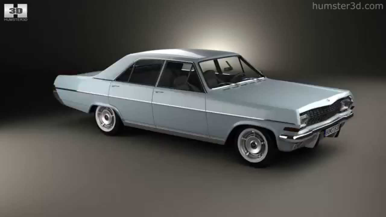 opel diplomat a 1964 by 3d model store youtube. Black Bedroom Furniture Sets. Home Design Ideas