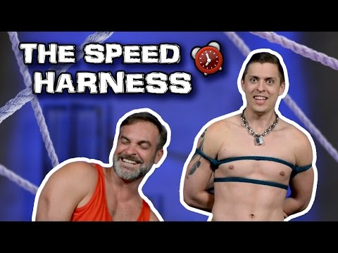 FASTEST BONDAGE HARNESS EVER! from YouTube · Duration:  5 minutes 21 seconds