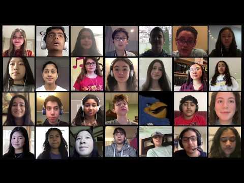 Jericho Middle School 2020 8th Grade Chorus Flying Free