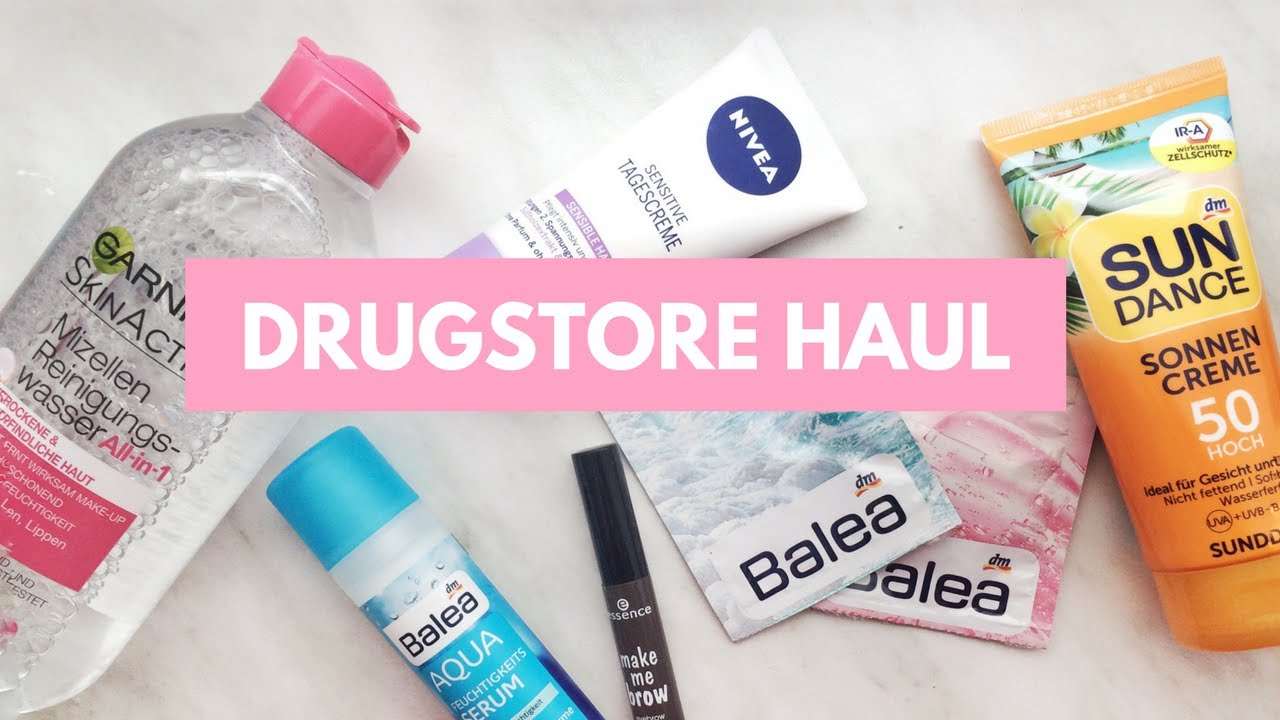 5ea2dbc4a10 GERMAN DRUGSTORE HAUL 2017 | DM HAUL + FIRST IMPRESSIONS - YouTube