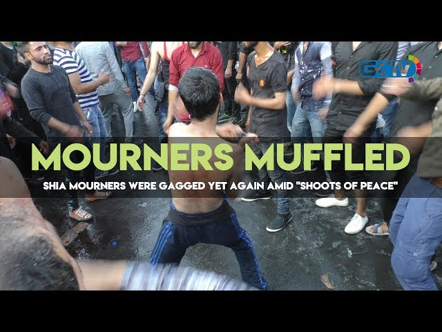 Mourners Muffled