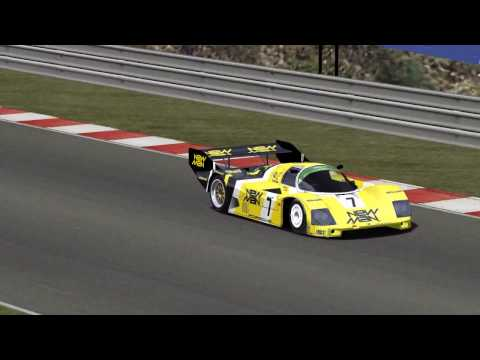 rfactor - Porsche 956C Joest Racing @ Spa Francorshamps