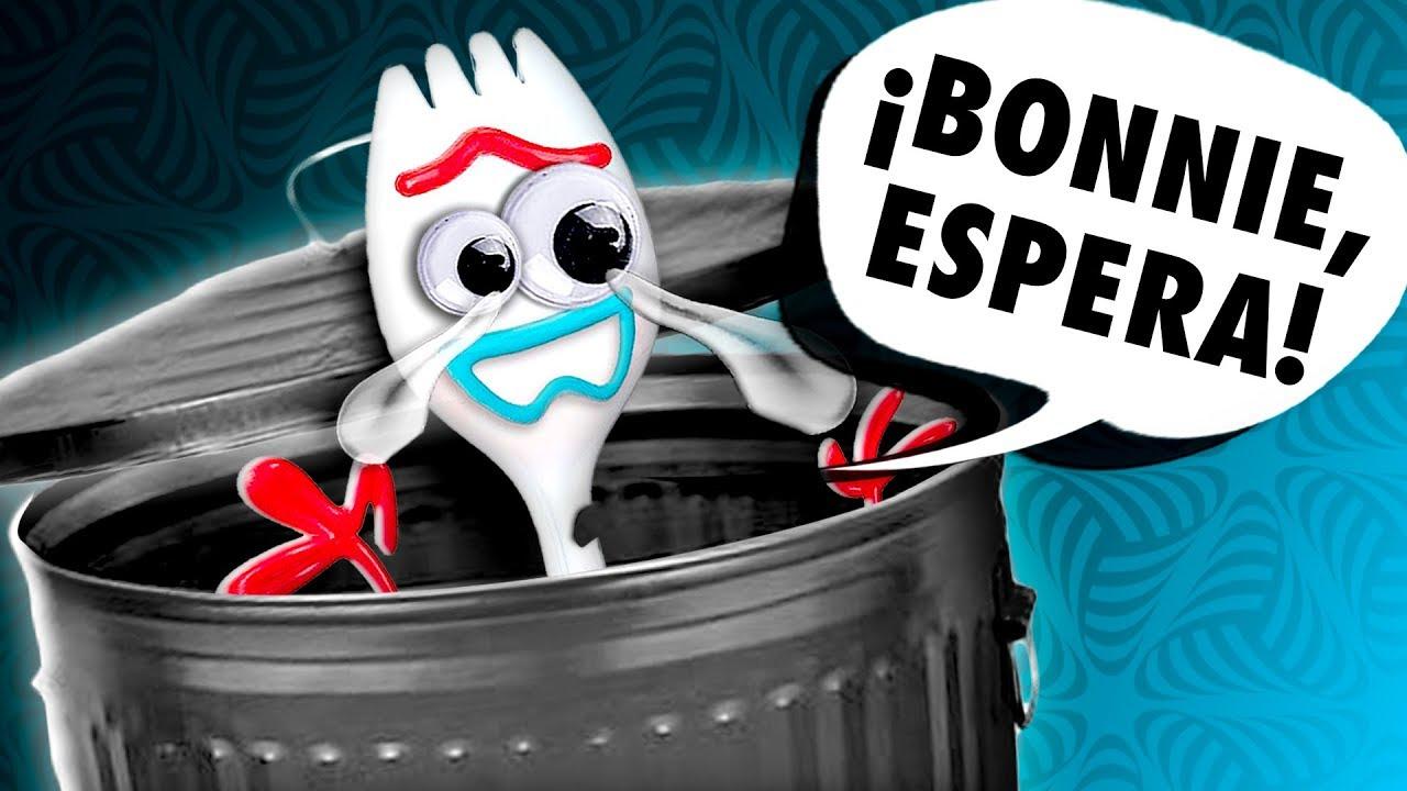 ????️ ¡Bonnie TIRA a FORKY a la BASURA! │ Toy Story 4