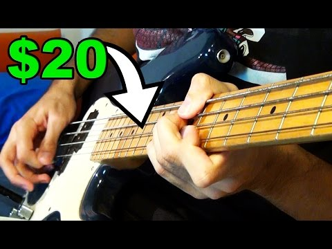 Download Youtube: $20 BASS SOLO