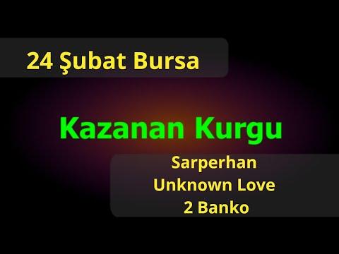 24 Şubat Bursa Altılı At Yarışı Tahminleri Ve Altılı Için Bankoları - TJK