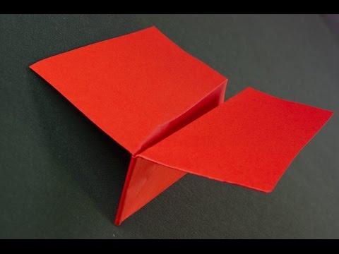 Como hacer un avión de papel Silke origami
