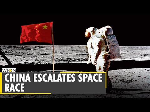 China plants Flag on Moon 51 years after US   Chinese space agency releases images   World News