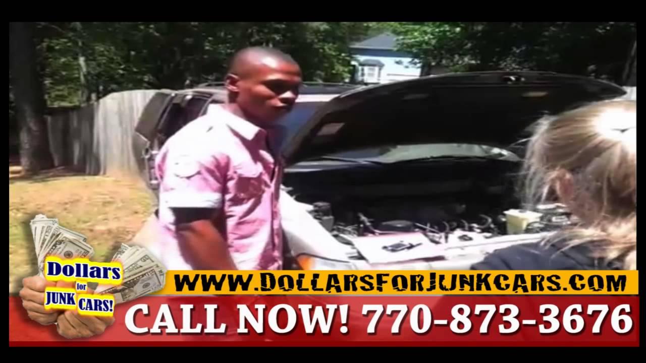 Cash For Cars Atlanta - We Buy Junk Cars - YouTube