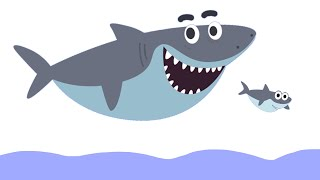 BABY SHARK на русском - АКУЛЕНОК - Songs for children - Танцы для детей