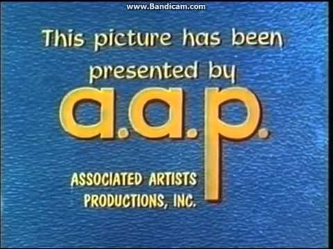 Associated Artists Productions Inc A A P In Film O