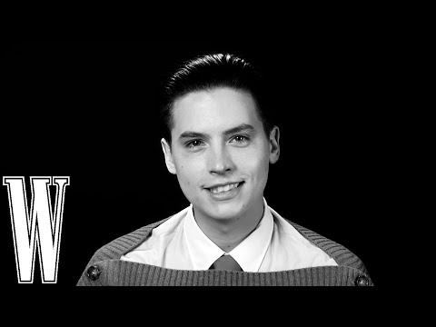 Cole Sprouse Had A Crush on Jennifer Aniston While Filming 'Friends' | Screen Tests |W Magazine