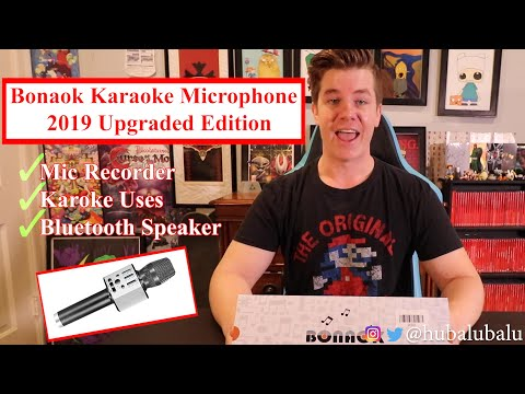 Bonaok Karaoke Microphone - 2019 Upgraded Edition
