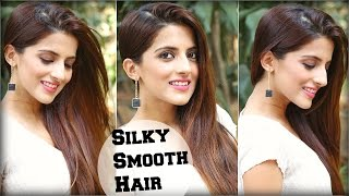 Homemade Protein Hair Mask For Dry Damaged Hair- Shiny/ Silky/ Soft/ Smooth Hair Naturally